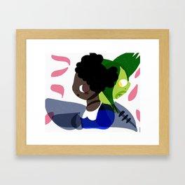 Rini and Iku Framed Art Print