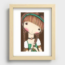 You're Blushing Recessed Framed Print