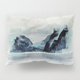 Rectangles - Perspective of Milford Sound Pillow Sham