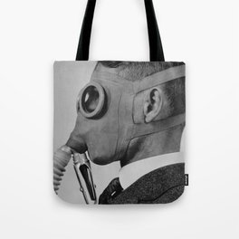 Classic gas mask Tote Bag