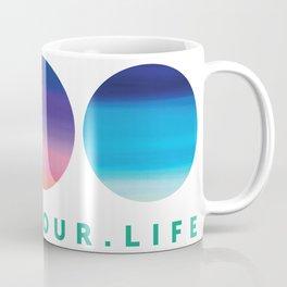 Color Your Life Coffee Mug