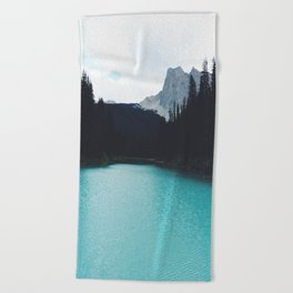Moody Emerald Lake Beach Towel