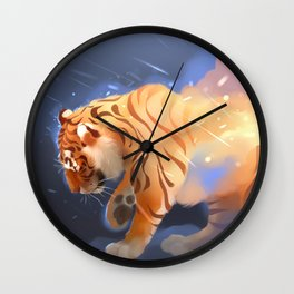 Flame Keeper Wall Clock