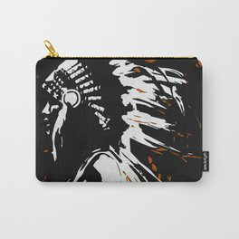 """Native American Indian """"Fearless in Flames"""" Carry-All Pouch"""