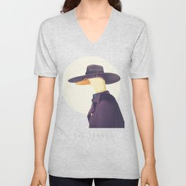 Justice Ducks - The Terror Unisex V-Neck