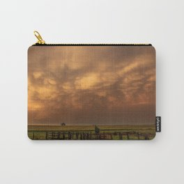 Afterglow - Clouds Glow After Storms at Sunset Carry-All Pouch