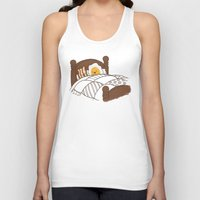 bed Tank Tops featuring Breakfast In Bed  by Terry Fan