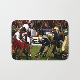 Amerika Football Bath Mat