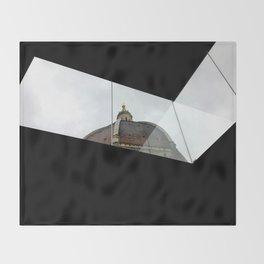 Duomo in Modernity Throw Blanket