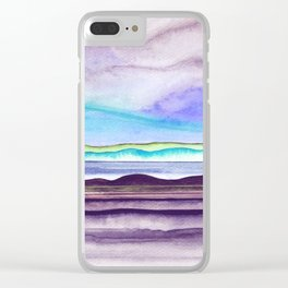 Abstract nature 09 Clear iPhone Case