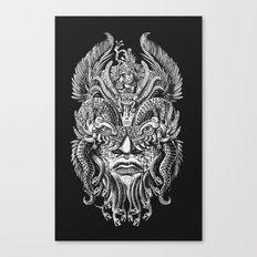 Queztalcoatl Canvas Print