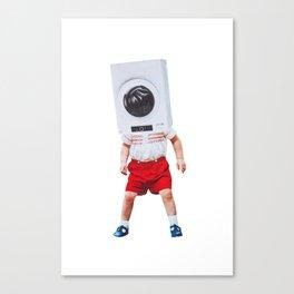machine boy Canvas Print