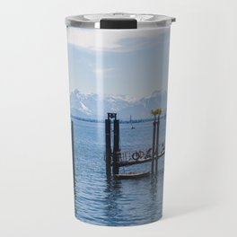 Bodensee and Alp Mountains Travel Mug