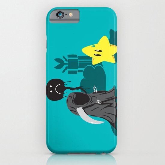 Death's worst enemy iPhone & iPod Case