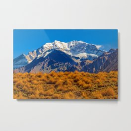 Aconcagua Park Landscape, Mendoza, Argentina Metal Print