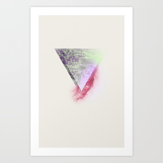 Wounded Waves Art Print