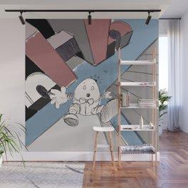 Humpty Dumpty's Free Fall Wall Mural