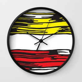 roy lichtenstein Wall Clock