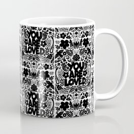 you are loved - garden Coffee Mug