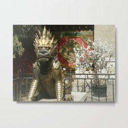 Dragon Blossom Metal Print