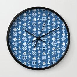 Sailor's Dream Anchors Aweigh Wall Clock