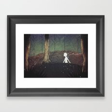 The Paper Forest Framed Art Print