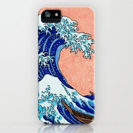 The Great Wave of Kanagawa iPhone Case