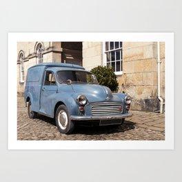 Vintage blue car I Castle Howard I York, England I Photography Art Print