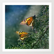 Monarch Moment Art Print