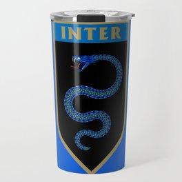 Milan Blue Badge Travel Mug