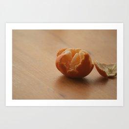 Oranges and...... Art Print
