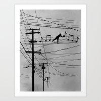 High Notes Art Print