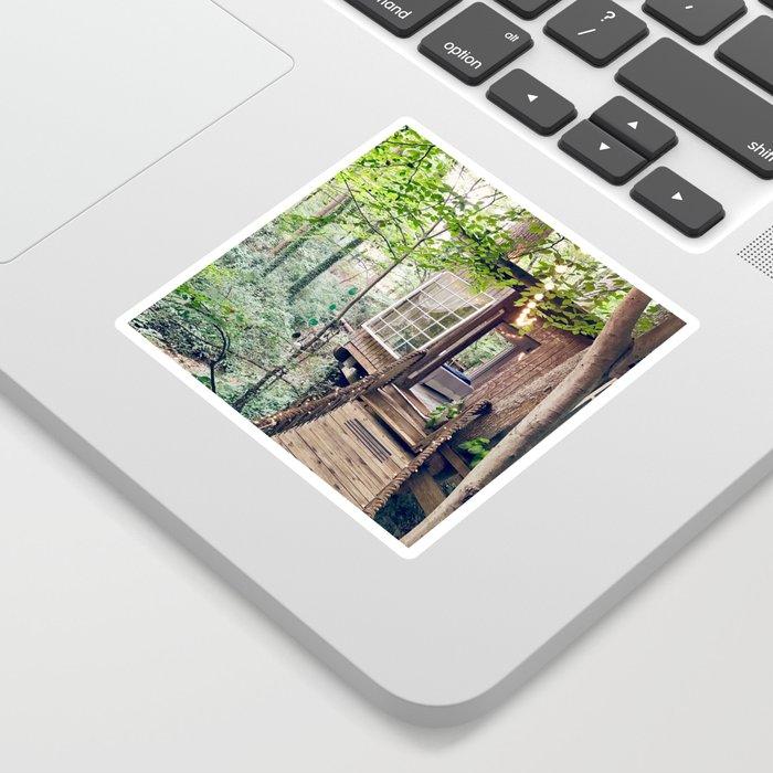 Enchanting Treehouse Sticker
