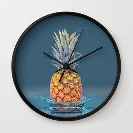 Pineapple Strike Wall Clock