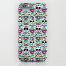 Dia De Los Muertos Calaveras iPhone 6s Slim Case
