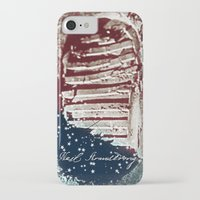 neil gaiman iPhone & iPod Cases featuring NEIL ARMSTRONG by OmaPRINTS