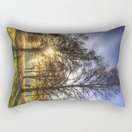 The Art of Autumn Rectangular Pillow