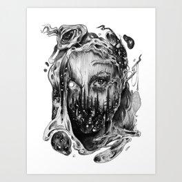 Cut Joint Sinews & Divided Reincarnation Art Print