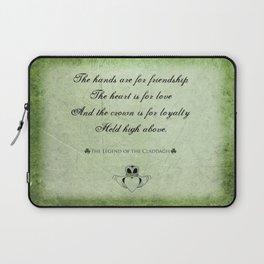 Claddagh ~ Love, Loyality, and Friendship Laptop Sleeve