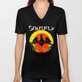 Soulfly Primitive Unisex V-Neck