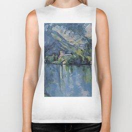 "Paul Cezanne ""The Lac d'Annecy"", 1896 Biker Tank"