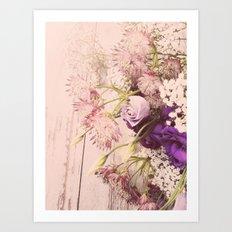 Gorgeous Vintage Floral Art Print