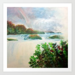 Splendor - Niagara Falls Art Print