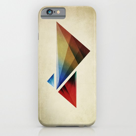 Triangularity Means We Dream in Geometric Colors iPhone & iPod Case