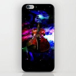 violin nebula iPhone Skin