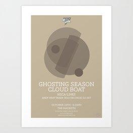 Ghosting Seasons Art Print