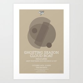 Ghosting Seasons Art Print