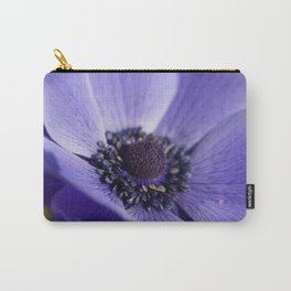 Blue Crown Anemone Carry-All Pouch