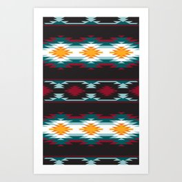 Native American Inspired Design Art Print