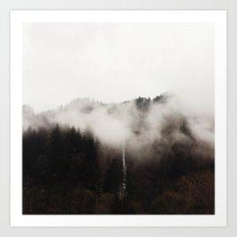 Multnomah Fog Art Print